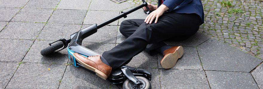 Préjudice corporal du à un accident de trottinette : comment réagir ?